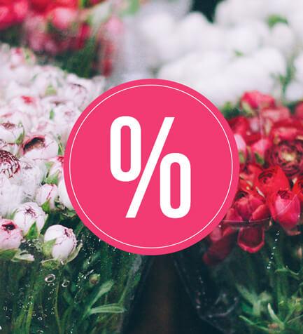 Promotii florarie